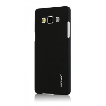 Пластиковый матовый металлик чехол для Samsung Galaxy A5
