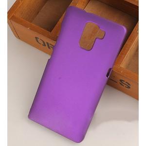 Пластиковый матовый непрозрачный чехол для Huawei Honor 7 Фиолетовый