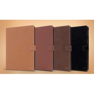 Чехол смарт флип подставка винтажный на пластиковой основе с застежкой Vintage для Samsung Galaxy Tab S 8.4