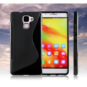 Силиконовый S чехол для Huawei Honor 7