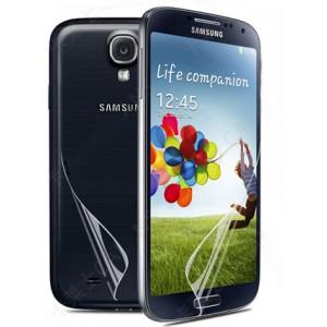 Защитная пленка на заднюю поверхность смартфона для Samsung Galaxy S4