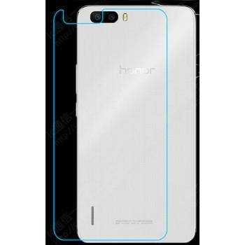 Ультратонкое износоустойчивое сколостойкое олеофобное защитное стекло-пленка на заднюю поверхность смартфона для Huawei Honor 6 Plus