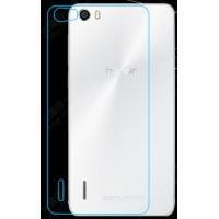 Ультратонкое износоустойчивое сколостойкое олеофобное защитное стекло-пленка на заднюю поверхность смартфона для Huawei Honor 6