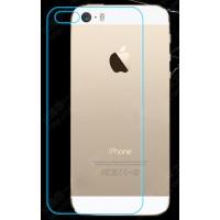 Ультратонкое износоустойчивое сколостойкое олеофобное защитное стекло-пленка на заднюю поверхность смартфона для Iphone 5