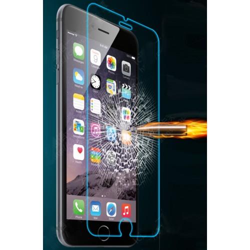 Ультратонкое износоустойчивое сколостойкое олеофобное защитное стекло-пленка на заднюю поверхность смартфона для Iphone 6 Plus/6s Plus