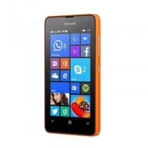 Ультратонкое износоустойчивое сколостойкое олеофобное защитное стекло-пленка для Microsoft Lumia 430 Dual SIM