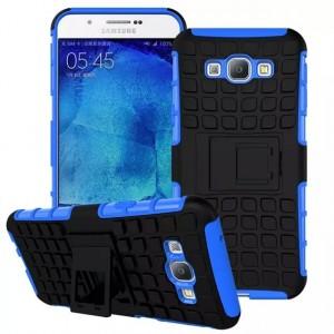 Антиударный силиконовый чехол экстрим защита с подставкой для Samsung Galaxy A8