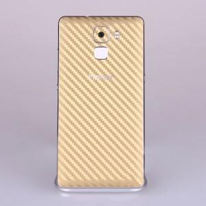 Защитная карбоновая пленка на заднюю поверхность для Huawei Honor 7 Бежевый