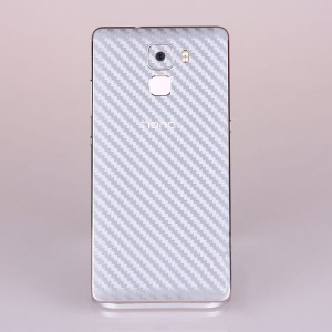 Защитная карбоновая пленка на заднюю поверхность для Huawei Honor 7