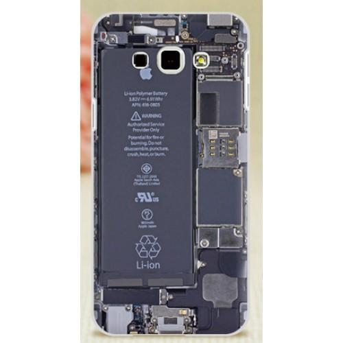 Пластиковый матовый дизайнерский чехол с УФ-принтом для Samsung Galaxy A8