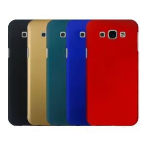 Пластиковый матовый металлик чехол для Samsung Galaxy A8