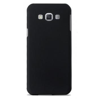 Пластиковый матовый непрозрачный чехол для Samsung Galaxy A8