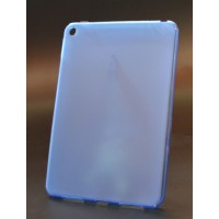 Силиконовый матовый полупрозрачный чехол для Nokia N1