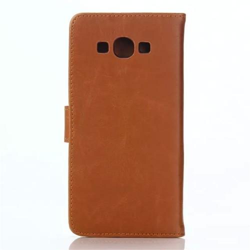 Винтажный чехол портмоне подставка с магнитной защелкой для Samsung Galaxy A8
