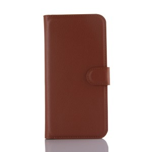 Чехол портмоне подставка с защелкой для Samsung Galaxy A8 Коричневый