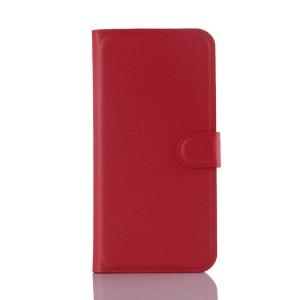 Чехол портмоне подставка с защелкой для Samsung Galaxy A8 Красный