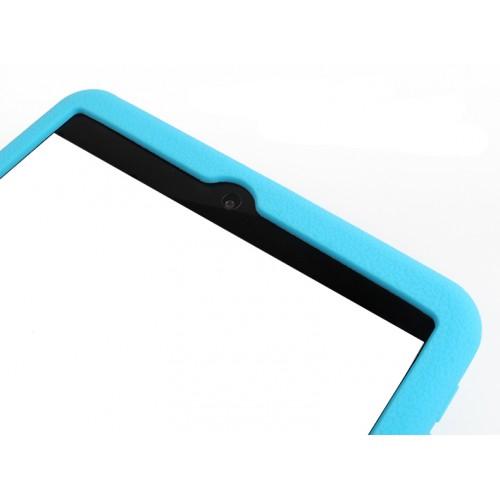 Силиконовый матовый непрозрачный софт-тач чехол повышенной защиты для Nokia N1