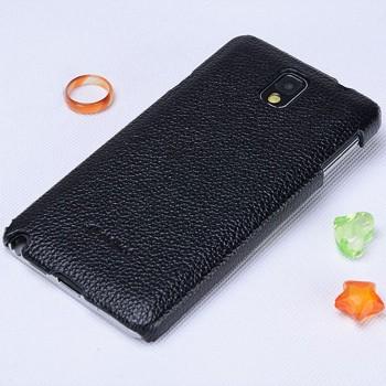 Кожаный чехол накладка Back Cover для Samsung Galaxy Note 3
