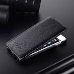 Кожаный чехол вертикальная книжка с защёлкой для Iphone 6 Plus/6s Plus