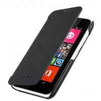Кожаный чехол горизонтальная книжка для Nokia Lumia 530