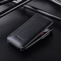 Кожаный чехол вертикальная книжка с защёлкой для HTC Desire 310