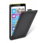 Кожаный чехол вертикальная книжка для Nokia Lumia 1320