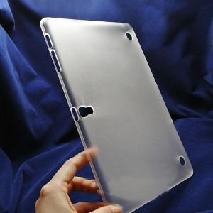 Пластиковый полупрозрачный матовый чехол для Samsung Galaxy Tab S 10.5