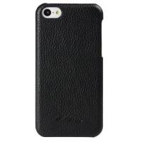 Кожаный чехол накладка Back Cover для Iphone 5c