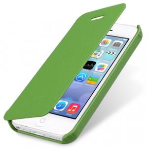 Кожаный чехол горизонтальная книжка для Iphone 5c