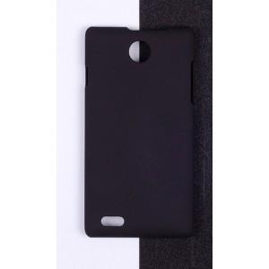 Пластиковый матовый непрозрачный чехол для MTS Smart Start Черный