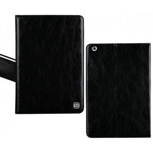 Кожаный чехол подставка с крепежом для кисти на поликарбонатной основе для Nokia N1