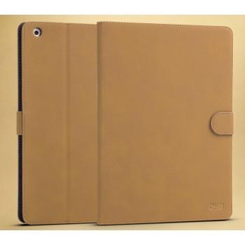 Винтажный чехол подставка с магнитной застежкой на поликарбонатной основе для Nokia N1