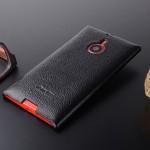Кожаный чехол накладка Back Cover Lumia 1520