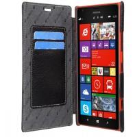 Кожаный чехол горизонтальная книжка с отделением для карт для Nokia Lumia 1520