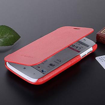 Кожаный чехол горизонтальная книжка для Lenovo A706