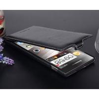 Кожаный чехол вертикальная книжка с защёлкой для Lenovo K900