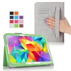 Чехол подставка с внутренними отсеками серия Full Cover для Samsung Galaxy Tab S 10.5 Зеленый