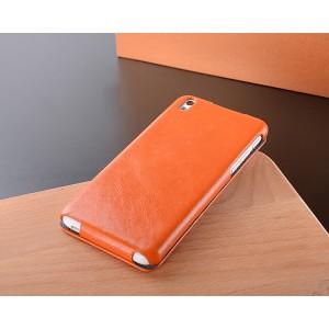 Кожаный чехол вертикальная книжка с защёлкой для HTC Desire 816