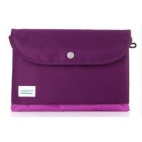 Многофункциональный тканевый чехол папка для Samsung Galaxy Tab S 10.5 Фиолетовый