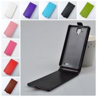 Чехол вертикальная глянцевая книжка на пластиковой основе с магнитной застежкой для Lenovo A536 Ideaphone