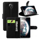 Чехол портмоне подставка с защелкой для Lenovo A536 Ideaphone