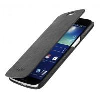 Кожаный чехол книжка горизонтальная для Samsung Galaxy Grand 2 Duos