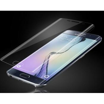 Экстразащитная термопластичная уретановая пленка на плоскую и изогнутые поверхности экрана для Samsung Galaxy S6 Edge