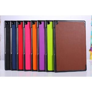 Сегментарный чехол с черной окантовкой для планшета Sony Xperia Z2 Tablet