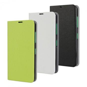 Чехол флип подставка на пластиковой основе для Nokia Lumia 630/635