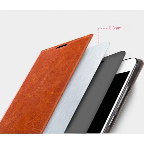 Чехол флип подставка водоотталкивающий для Sony Xperia Z5