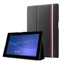 Кожаный чехол с лентой TriColor для планшета Sony Xperia Z2 Tablet