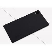 Пластиковый матовый нескользящий премиум чехол для Sony Xperia Z5 Черный