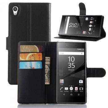 Чехол портмоне подставка с защелкой для Sony Xperia Z5