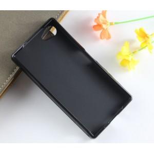 Силиконовый X чехол для Sony Xperia Z5 Compact Черный